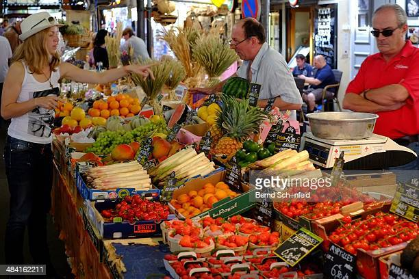 Taken at the local market in Cap d'Antibes / France