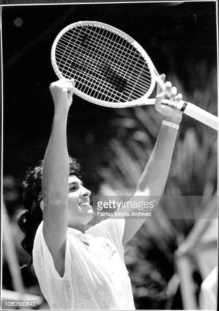 Taken at White CityWomen's Singles FinalGabriela Sabatini V Arantxa Sanchez VicarioGabriela Sabatini's decision to play at the NSW Open for the first...