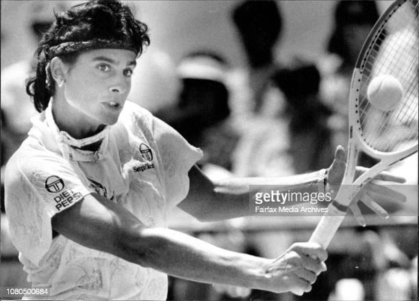Taken at White CityWomen's Singles FinalGabriela Sabatini V Arantxa Sanchez VicarioSabatiniSlamming grandly Gabriela Sabatini in faultless tactical...