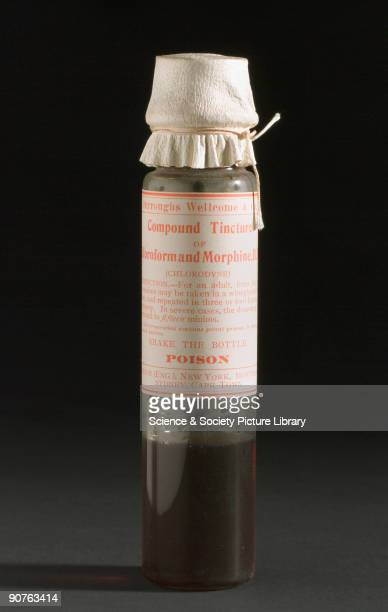 Taken from a medicine chest by Burroughs Wellcome and Co