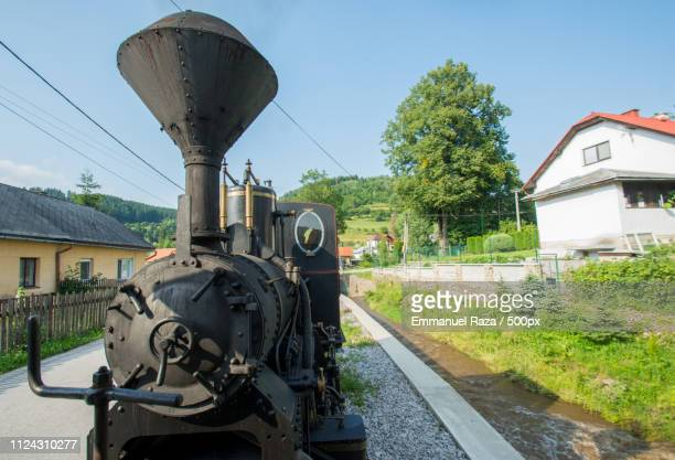taken from the steam train. - historique stock pictures, royalty-free photos & images