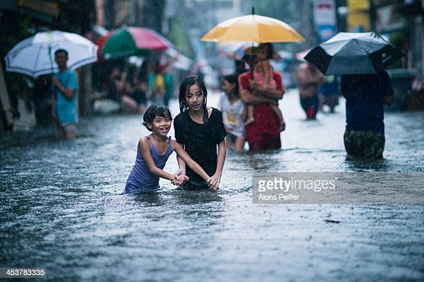 CONTENT] Taken in Sampaloc district people are used to flooding in this area Nearby I saw people partying in the water with the neighboorhood