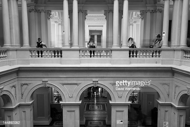 Taken in the lobby area of Toronto's historic Osgoode Hall.