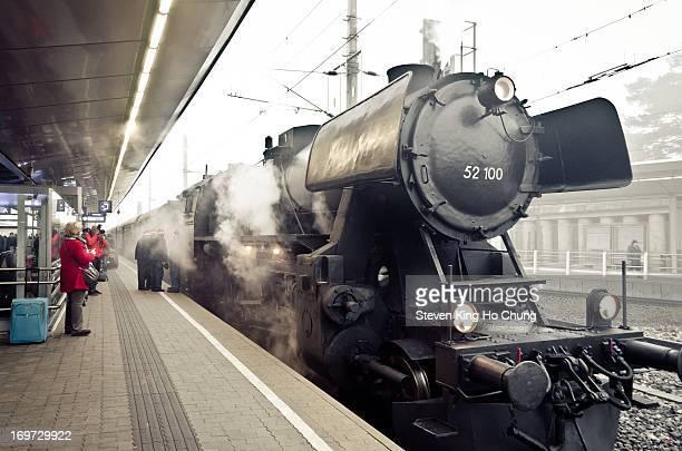 Taken in vienna, an epic antique train.