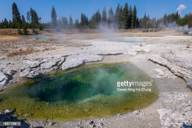 Taken in Yellowstone National Park, West Thumb Geyser Basin, in Wyoming.