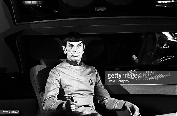 Taken on the set of Star Trek: The Motion Picture