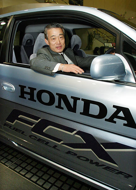President And CEO Of Honda Motor Co Takeo Fukui