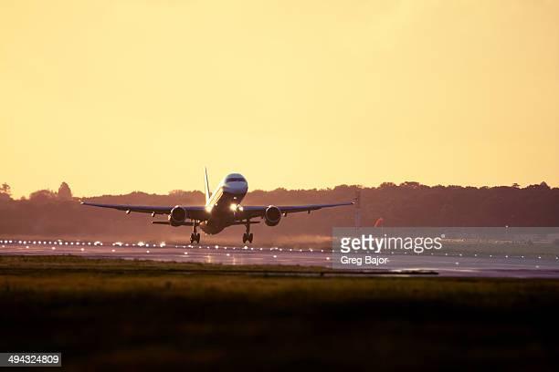 Takeoff at Gatwick