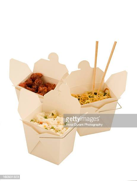 Take-out chinese food