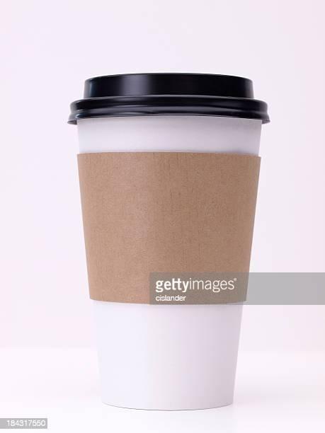 テイクアウトのコーヒーカップ