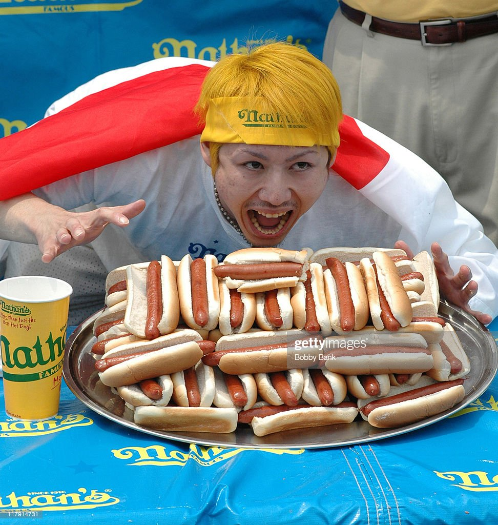 91st Nathan's Famous International Hot Dog Eating Contest - July 4, 2006