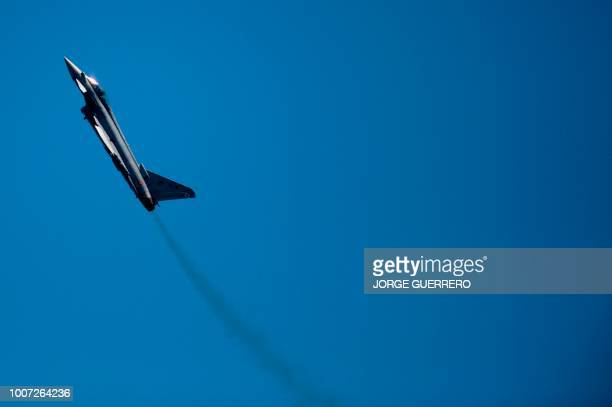 FAB takes part in the 2018 International Torre del Mar Airshow on July 29 2018