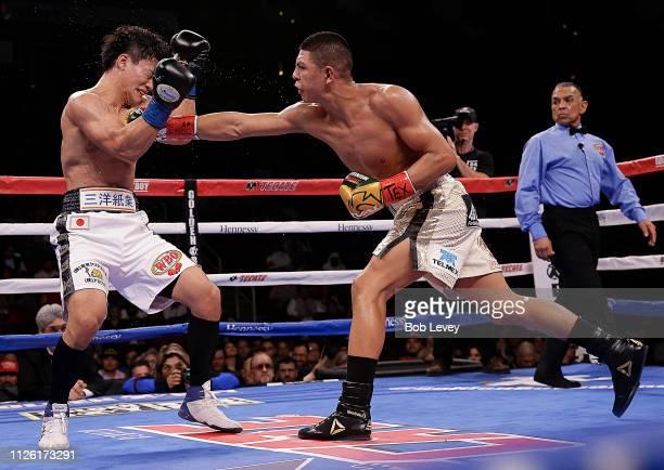 Takeshi Inoue and Jaime Munguia fight for the WBO Junior Middleweight championship at Toyota Center on January 26 2019 in Houston Texas Jaime Munguia...