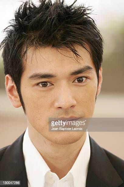 Takeshi Kaneshiro during 2004 Cannes Film Festival 'House Of Flying Daggers' Photocall at Palais du Festival in Cannes France