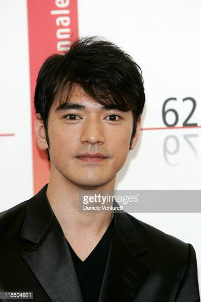 Takeshi Kaneshiro during 2005 Venice Film Festival 'Perhaps Love' Photocall at Casino Palace in Venice Lidon Italy