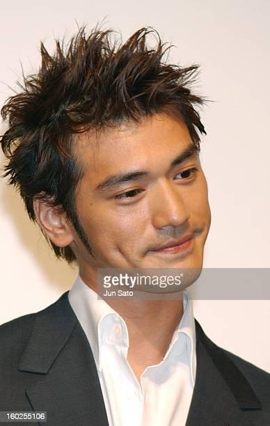 Takeshi Kaneshiro during 'Lovers' Tokyo Premiere Inside at NHK Hall in Tokyo Japan