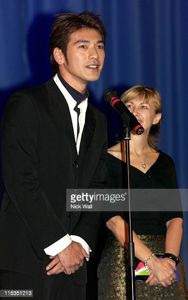 Takeshi Kaneshiro during The Times BFI London Film Festival 2004 'House of Flying Daggers' Family Gala at The Odeon West End in London Great Britain