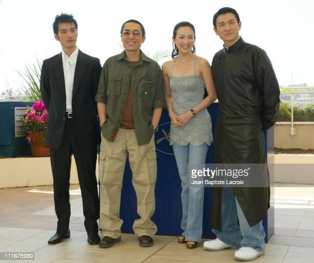 Takeshi Kaneshiro Yimou Zhang Zhang Ziyi and Andy Lau