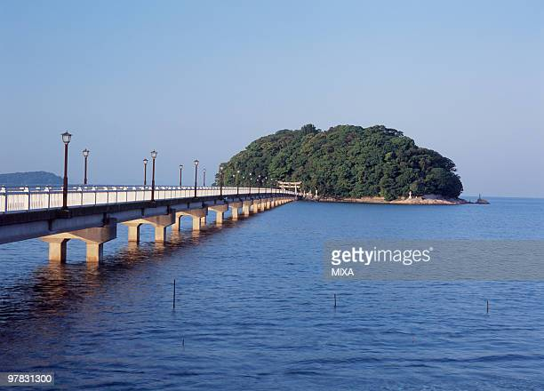 takeshima island, gamagori, aichi, japan - aichi prefecture stock pictures, royalty-free photos & images