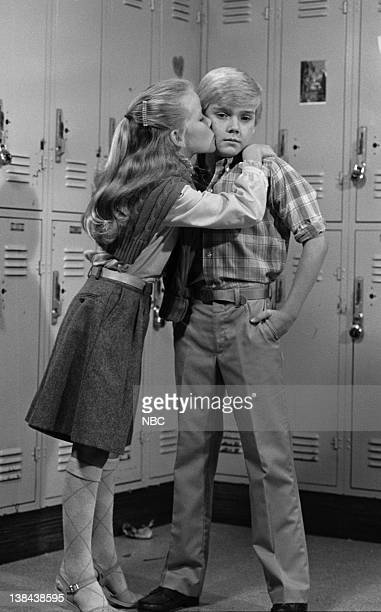 SPOONS Takin' a Chance on Love Episode 5 Pictured Amanda Peterson as Sally Frumbel Rick Schroder as Richard Bluedhorn Stratton
