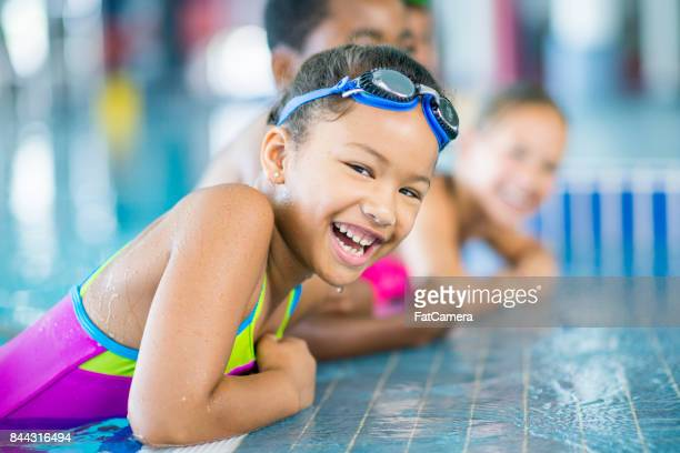 taking a break - swimming stock pictures, royalty-free photos & images