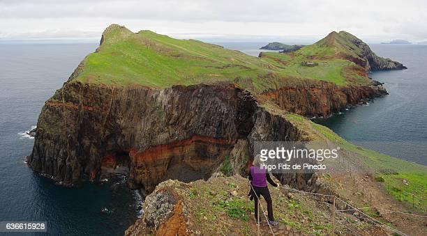 Taking a break- Ponta de São Lourenço- Madeira island- Portugal