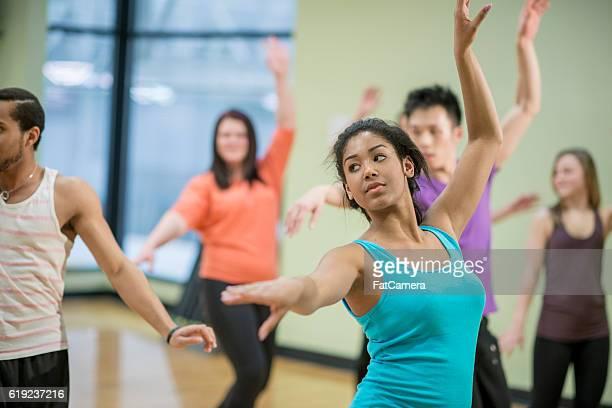 Taking a Dance Class at a Studio