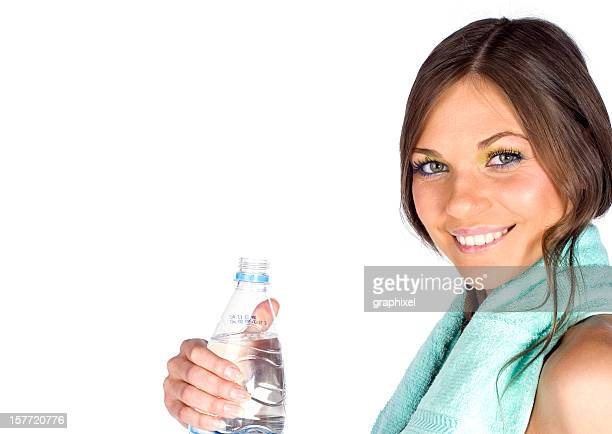 taking a drink of water - graphixel stock pictures, royalty-free photos & images