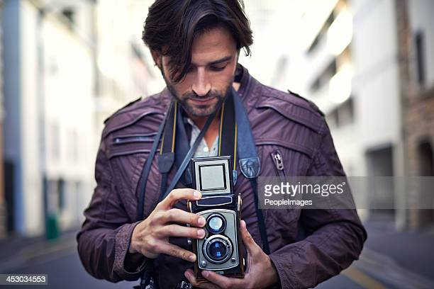 Taking a few vintage photographs