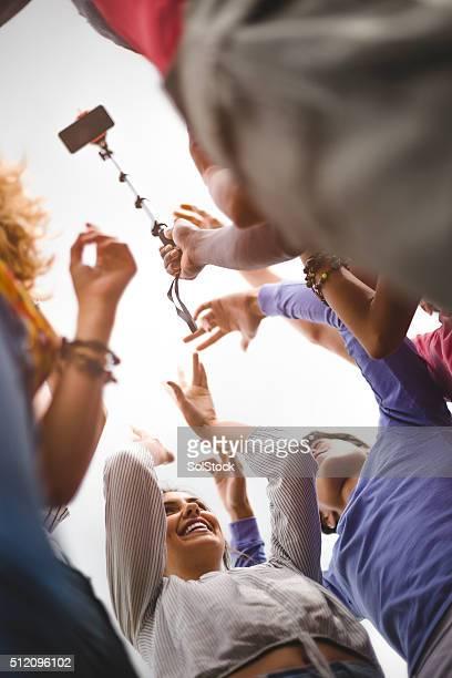 Taking a Group Selfie