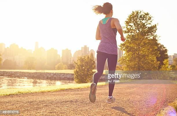 Faire un jogging matinal