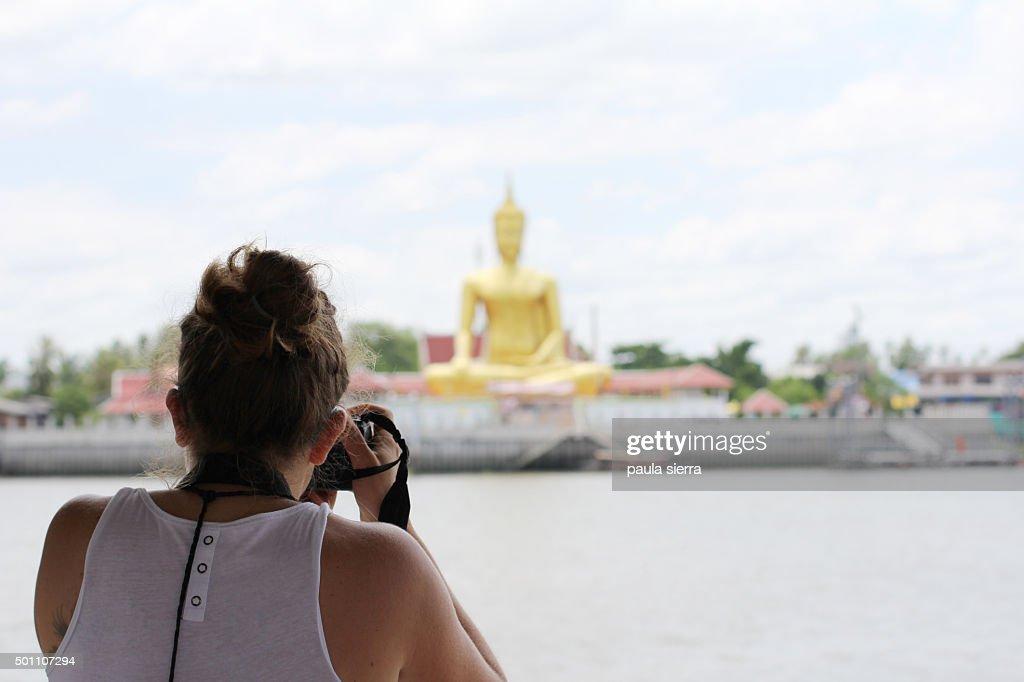 Taking a photo : Stock Photo