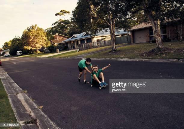 Taking a ride down fun lane