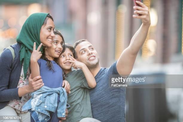 Taking A Selfie Together