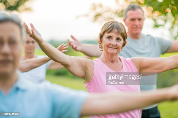 Taking a Tai Chi Class