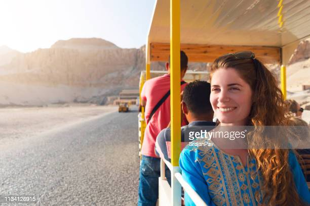 taking a tour through egypt - luxor thebes stock pictures, royalty-free photos & images