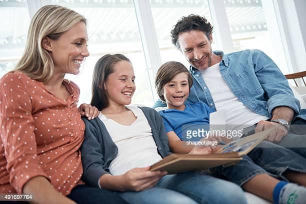 Faire une balade le long du temps en famille
