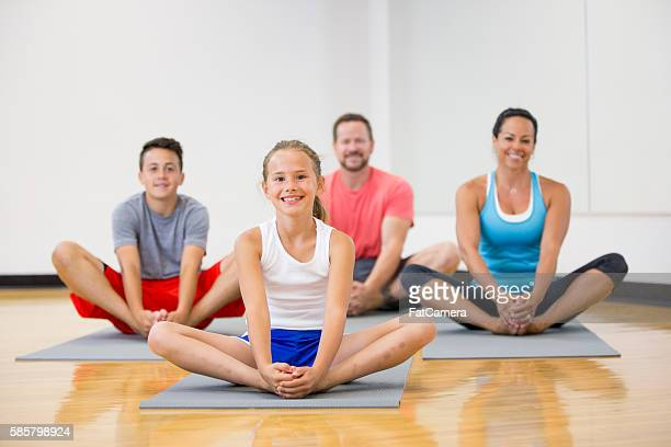 Taking a Yoga Class as a Family