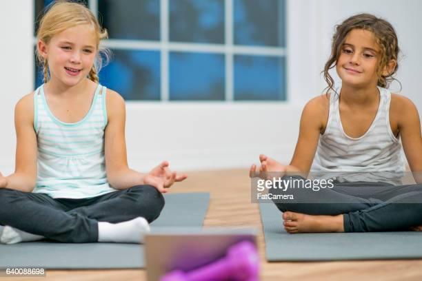 Taking an Online Yoga Class