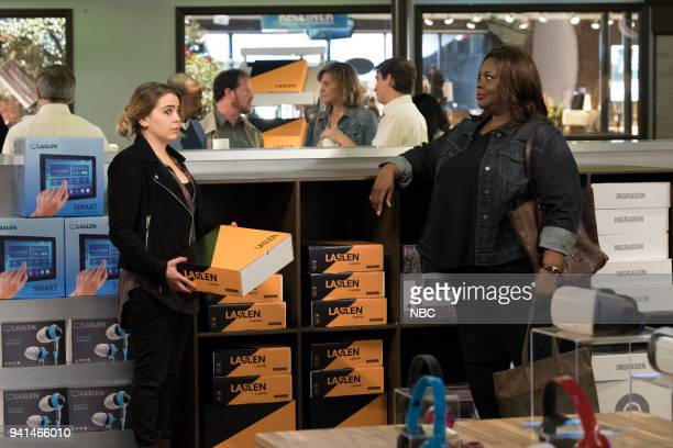 GIRLS 'Taking Care of Business' Episode 105 Pictured Mae Whitman as Annie Marks Retta as Ruby Hill