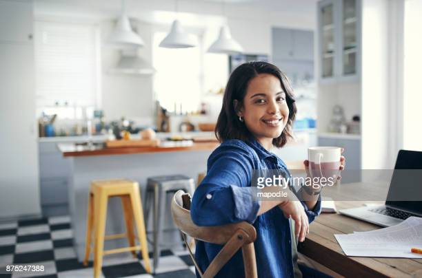 taking care of business with a cuppa tea - looking over shoulder stock pictures, royalty-free photos & images
