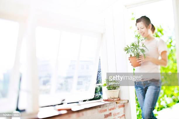 Beaufsichtigung von Pflanzen