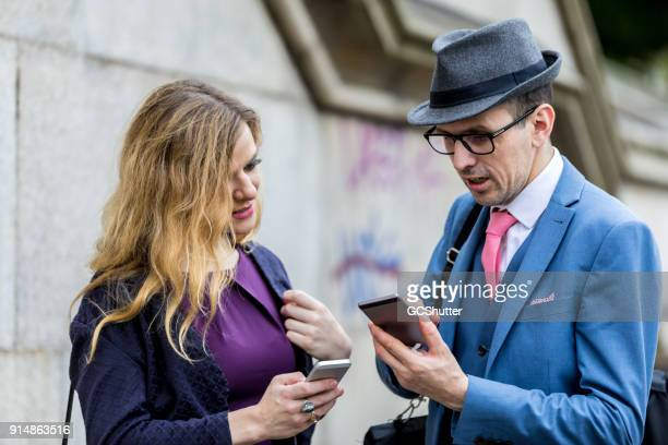 taking each other's mobile phone number - telephone number stock pictures, royalty-free photos & images