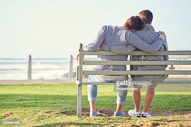 Disfrutar de una tarde romántica