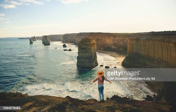taking in the view - victoria australia stock pictures, royalty-free photos & images