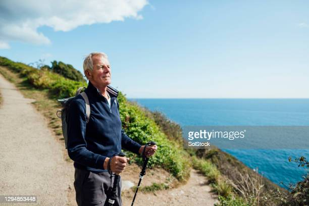taking in those beautiful views - cornwall england stock pictures, royalty-free photos & images