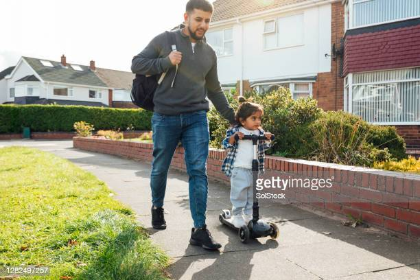 taking my son to preschool - son stock pictures, royalty-free photos & images