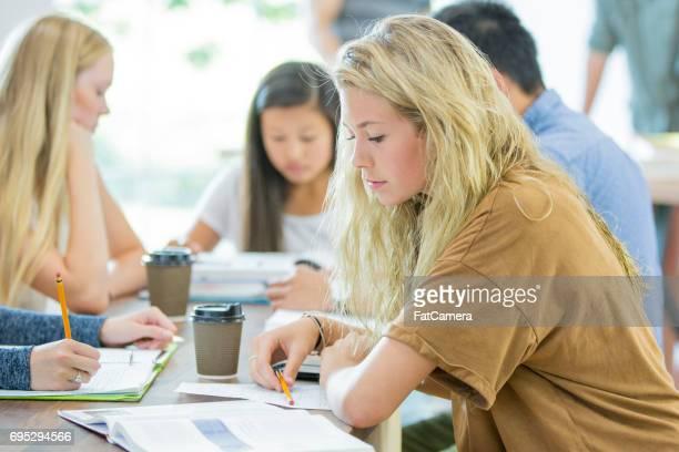 Tomar notas de una prueba