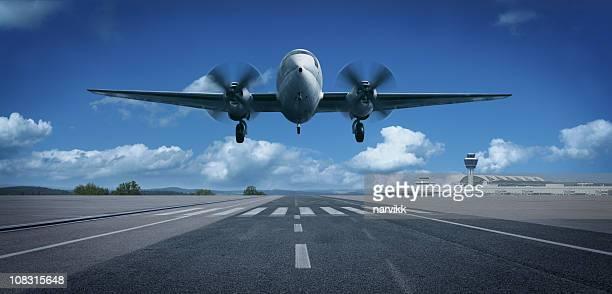 Décoller et atterrir avion