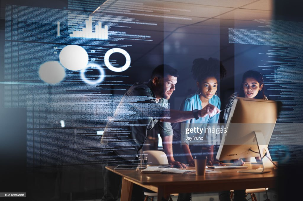 Taking on the late shift with true dedication : Stock Photo